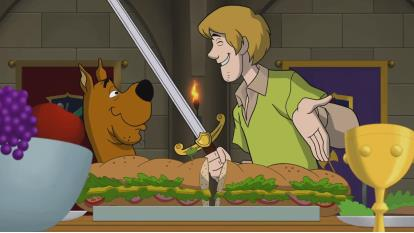 تیزر انیمیشن Scooby Doo The Sword and the Scoob 2021 اسکوبی دو شمشیر و اسکوب